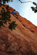 Rock Climbing Photo: Armstrong on Lead, Kristin Parks on Photography. R...