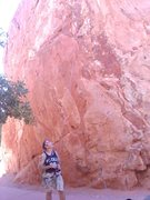 Rock Climbing Photo: On Belay at Red Twin Spire, GOG, Colorado Springs,...
