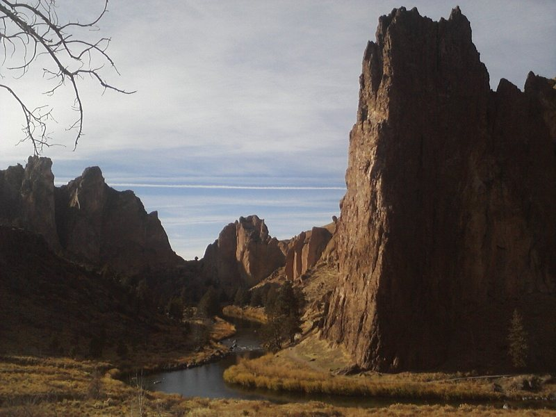 Rock Climbing Photo: Spectacular shot of Smith Rock, Terrebonne, OR.