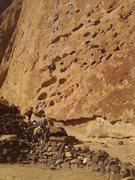 Rock Climbing Photo: 5 Gallon Buckets, a Smith Rock Classic.