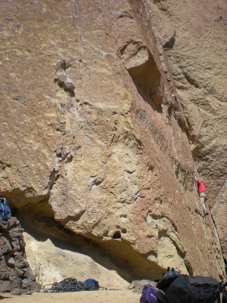 Rock Climbing Photo: Forgetting