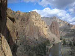 Rock Climbing Photo: Scenic view of the walls at Smith Rock, OR.