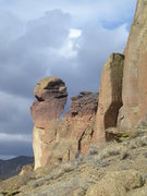 Rock Climbing Photo: Monkey Face, Smith Rock, OR.