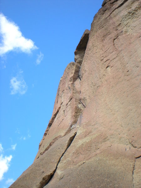 Spiderman Butress, Smith Rock, OR.