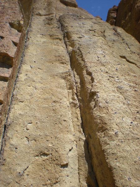 Rock Climbing Photo: Left of Bunny Face, Smith Rock, OR. Good Beginner ...