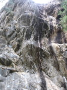 Rock Climbing Photo: Another shot of Primeval straight on.
