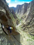 Rock Climbing Photo: Comic Relief.