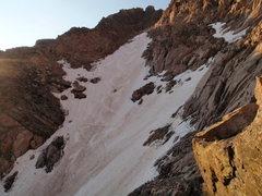 Rock Climbing Photo: Upper Lamb's Slide.