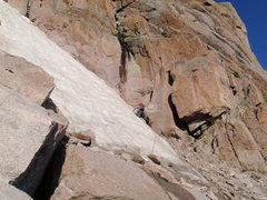 Rock Climbing Photo: Notch Couloir.