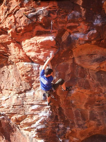 Rock Climbing Photo: Fear and Loathing, Red Rock, NV