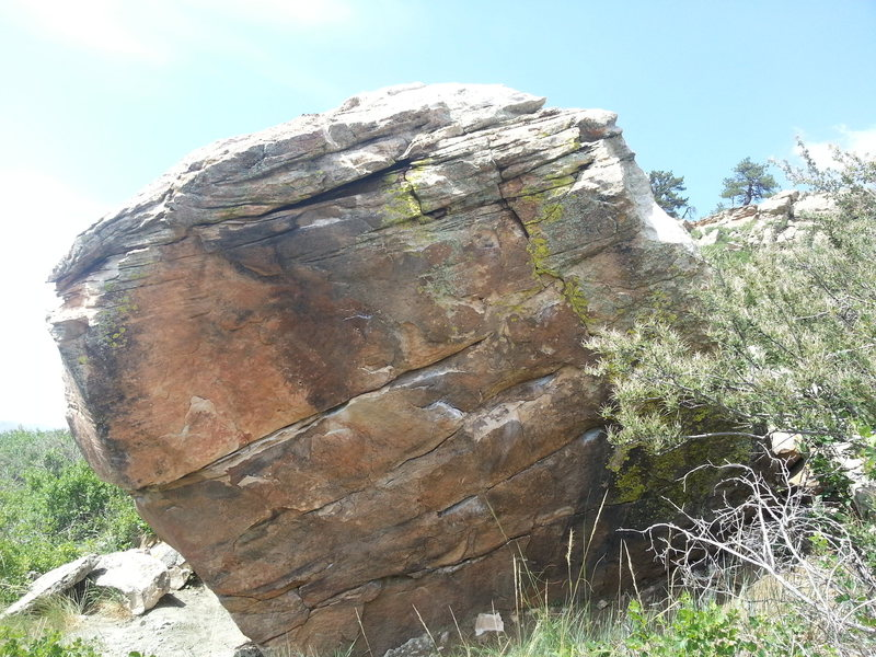 South Face of the Sunshine Boulder.