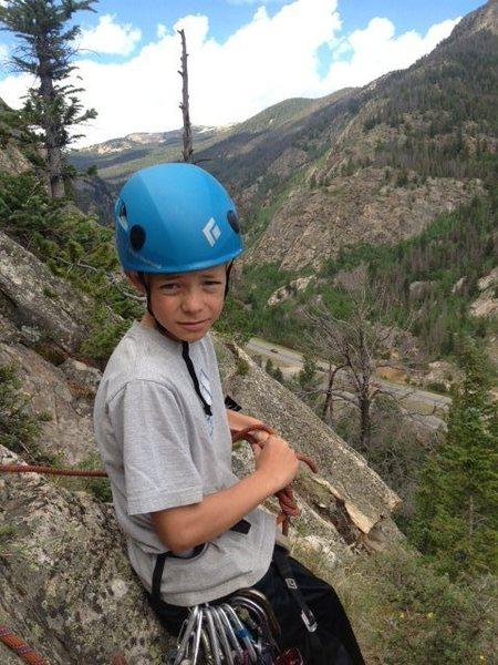 Rock Climbing Photo: Logan Pappas.