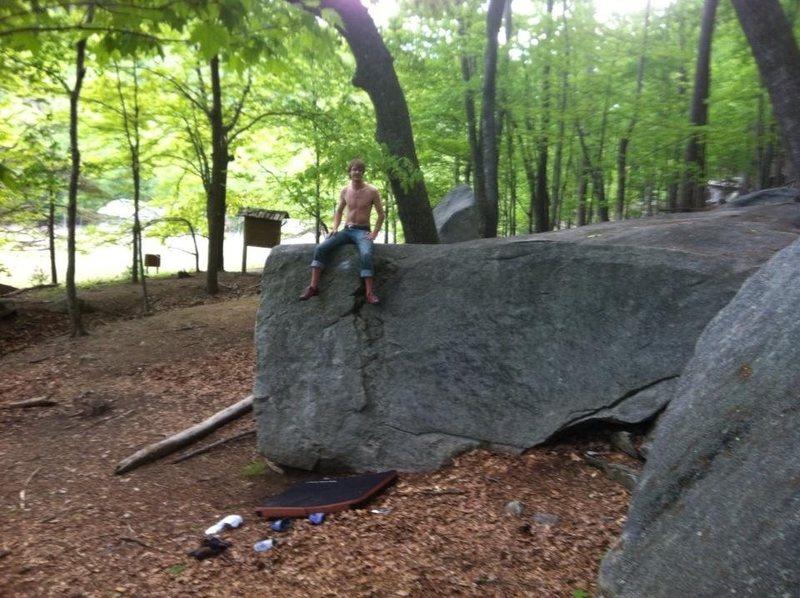 Rock Climbing Photo: Kiosk Boulder