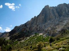 Rock Climbing Photo: Approaching Laurel Mt.