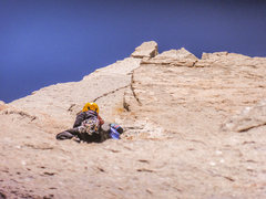 Rock Climbing Photo: To the top we go!