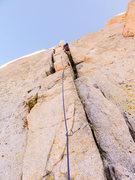 Rock Climbing Photo: Pitch 11 & 12 Chimney