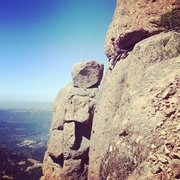 Rock Climbing Photo: Had a blast up in the July heat today. Doing some ...