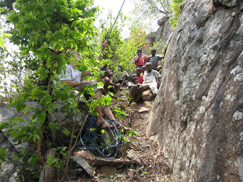 Rock Climbing Photo: Climbing in Malawi, Zomba Plateau