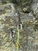 Rock Climbing Photo: Anchors July 2013. Dirty route, but great movement...