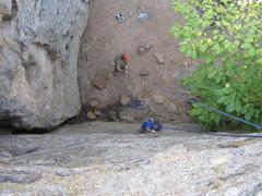 Rock Climbing Photo: Scenic Overlook route.