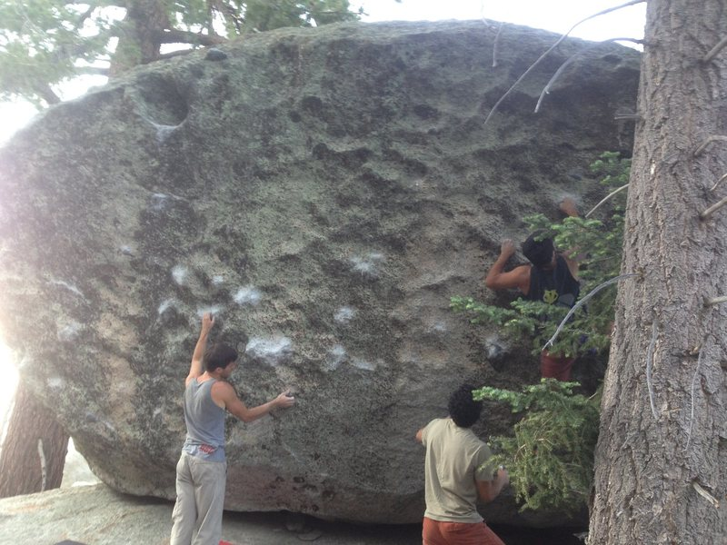 conspiracy boulder