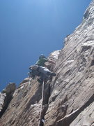 Rock Climbing Photo: The Title Track 2nd pitch.