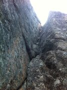 Rock Climbing Photo: Opening corner for Trojan Whores and Sloppy Second...