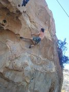 Rock Climbing Photo: Working Omega Glory...Photo courtesy of Antonio Lo...