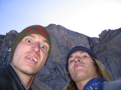 Rock Climbing Photo: Me and the kid, long day on the D