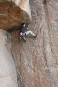 Rock Climbing Photo: Firin' at the Voo