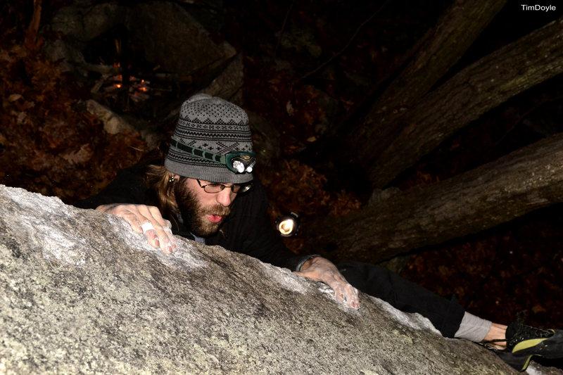 Rock Climbing Photo: Joe.