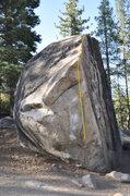 Rock Climbing Photo: Unnamed V5