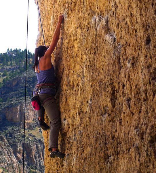 Rock Climbing Photo: Getting into the good stuff on Always Keep It Load...