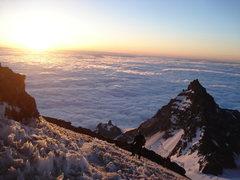 Rock Climbing Photo: 12,500 feet on Mt. Rainier