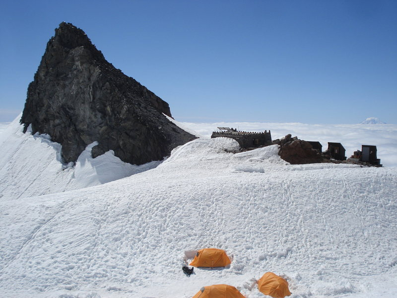 Rock Climbing Photo: Camp Muir, Mr. Rainier:  June, 2013