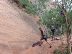 "Rock Climbing Photo: Starting the ""Sprint Point"". No hands al..."