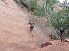 "Rock Climbing Photo: ""Sprint Point"" - definition, leading san..."