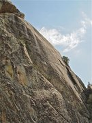 Rock Climbing Photo: Photo makes it look less steep than it really is. ...