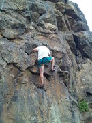 Rock Climbing Photo: Short Shorts equal POWER UP!!! Go Curt! Emigrant L...