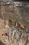 Rock Climbing Photo: Killer route.
