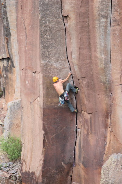 Rock Climbing Photo: its not all ringlocks