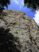 Rock Climbing Photo: Me on waste not