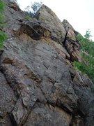 Rock Climbing Photo: Buckets of Rain.