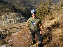 Rock Climbing Photo: homeboy