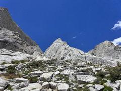 Rock Climbing Photo: a diminutive looking Saber Ridge