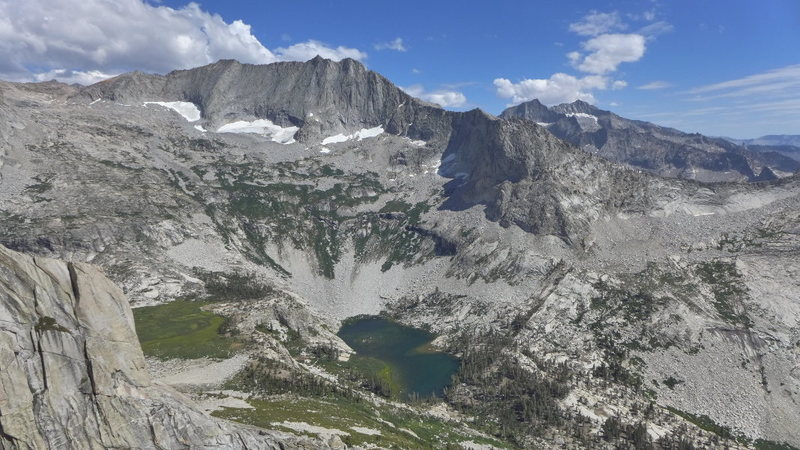 Rock Climbing Photo: view of Mt Stewart and Tamarack Lake