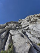 """Rock Climbing Photo: the options for the second """"bump"""""""