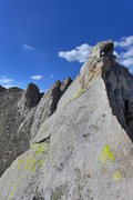 Rock Climbing Photo: nearing the summit