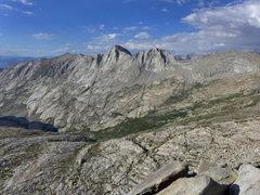 Rock Climbing Photo: Glacier Ridge and Deadman Canyon
