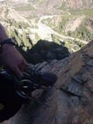 Rock Climbing Photo: view from above